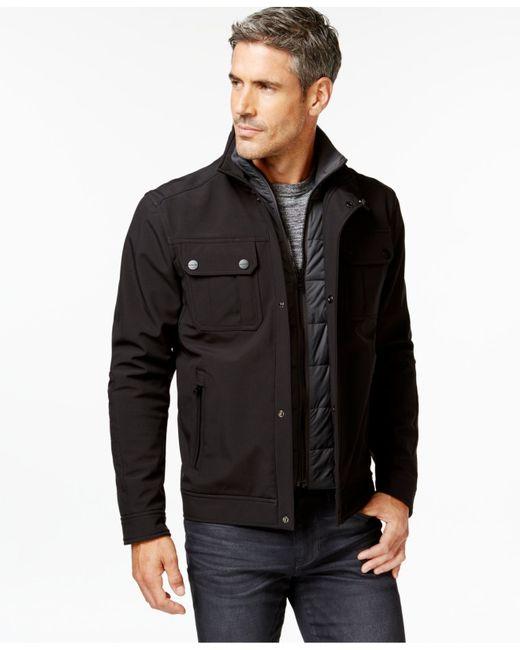 Michael Kors Hipster Jacket In Black For Men Lyst