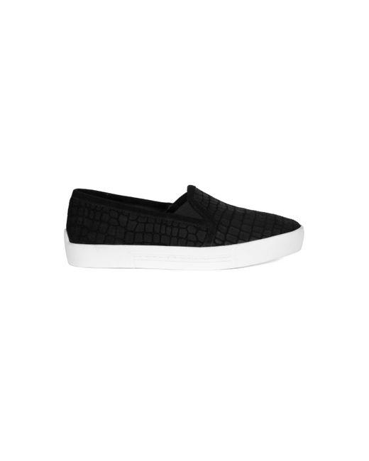 Joie | Black Huxley Suede Sneakers | Lyst