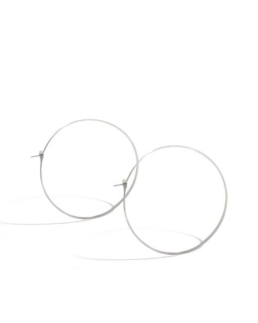 Melissa Joy Manning | Metallic 2.75 Inch Classic Soup Can Hoops | Lyst