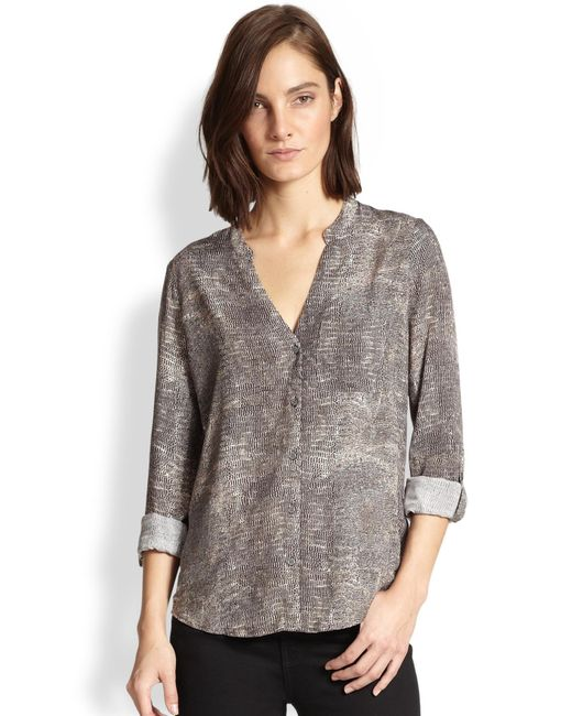 Soft Joie | Animal Anabella Reptile-print Shirt | Lyst
