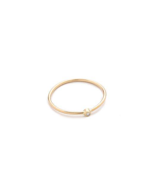 Zoe Chicco | Metallic Diamond Ring | Lyst