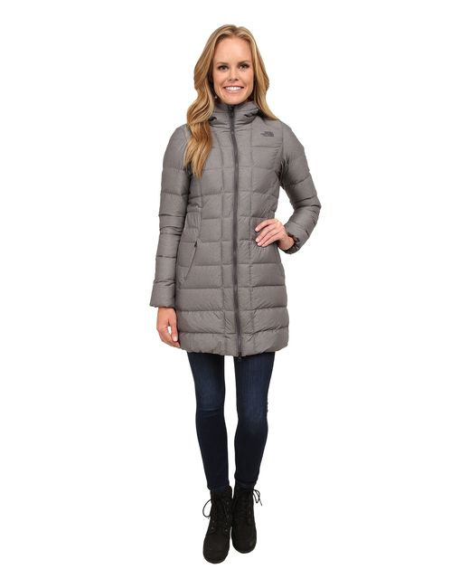 The North Face   Gray Gotham Parka   Lyst