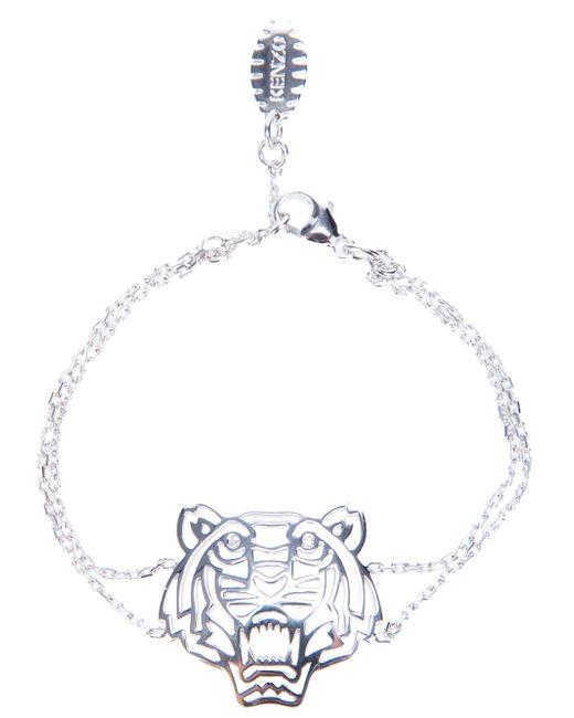 KENZO   Metallic 'tiger' Bracelet   Lyst