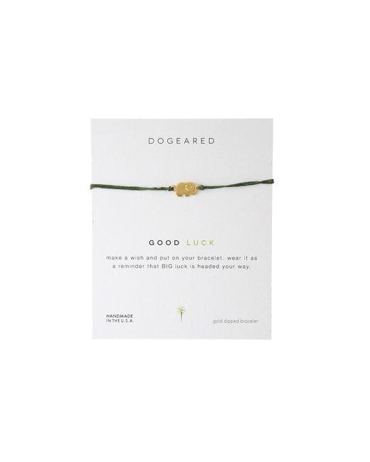 Dogeared | Metallic Good Luck Linen Bracelet | Lyst