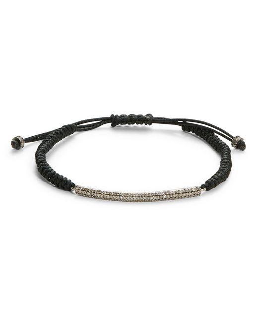 Chan Luu | Black Diamond And Sterling Silver Bracelet - 0.6 Tcw | Lyst