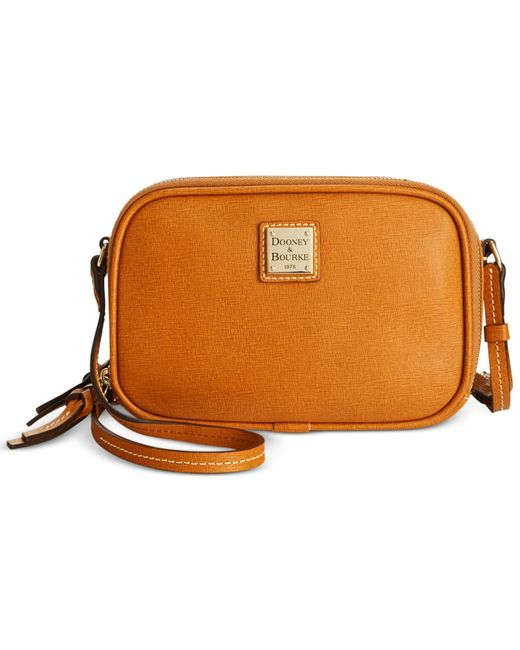 Dooney & Bourke | Natural Saffiano Sawyer Crossbody | Lyst