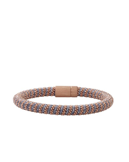 Carolina Bucci | Blue Denim Sparkle Twister Band Bracelet | Lyst