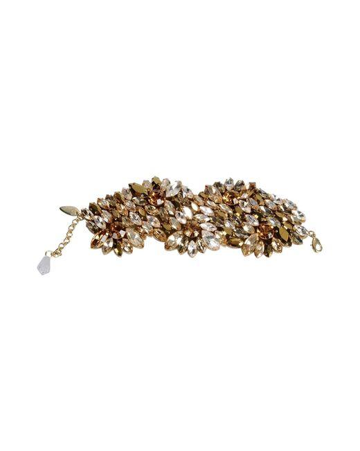 Jenny Packham   Metallic Bracelet   Lyst