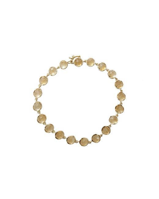 Irene Neuwirth | White Rose Cut Citrine Bracelet | Lyst