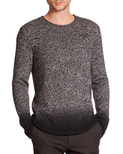 VINCE | Multicolor Ombre Marled Cashmere Sweater for Men | Lyst