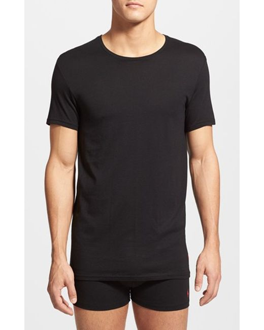 Polo Ralph Lauren | Supreme Comfort 2-pack T-shirt, Black for Men | Lyst