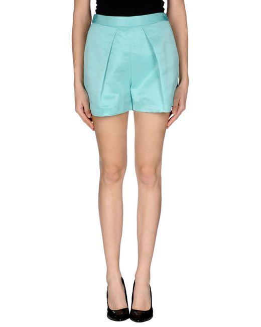 MSGM   Blue Shorts   Lyst
