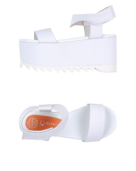 Jeffrey Campbell | White Sandals | Lyst