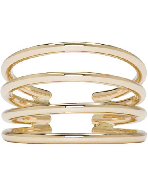 Sophie Bille Brahe   Metallic Gold Ressort Oreille Ear Cuff   Lyst