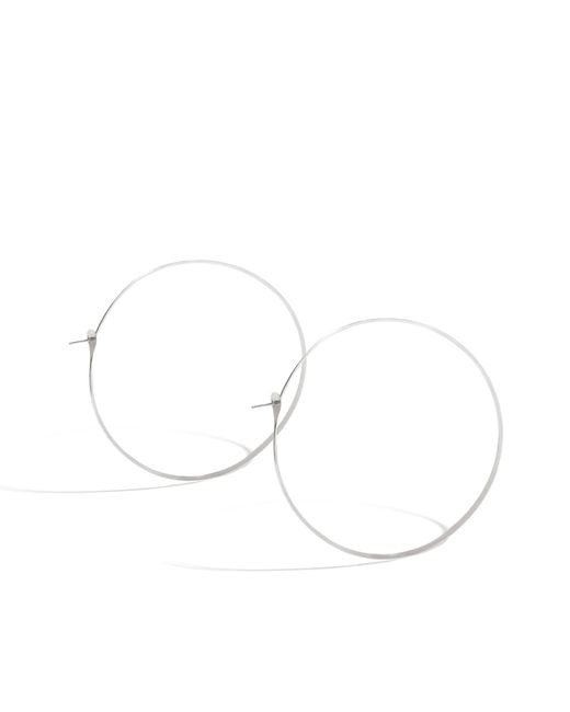 Melissa Joy Manning | Metallic 2.75 Inch Classic Soup Can Silver Hoops | Lyst