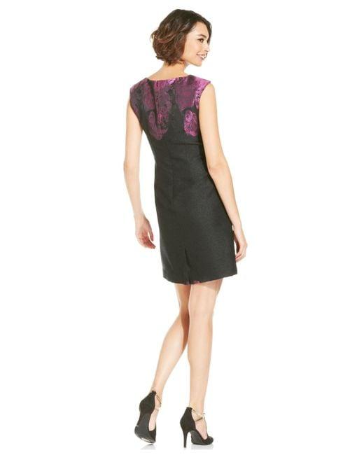 Tahari | Black Tahari Asl Plus Sheath Dress | Lyst