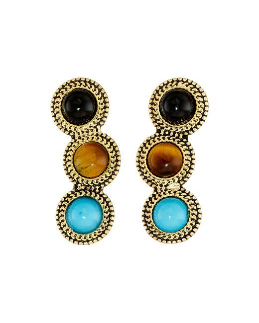 Sam Edelman | Multicolor Stone Ear Crawler Earrings | Lyst