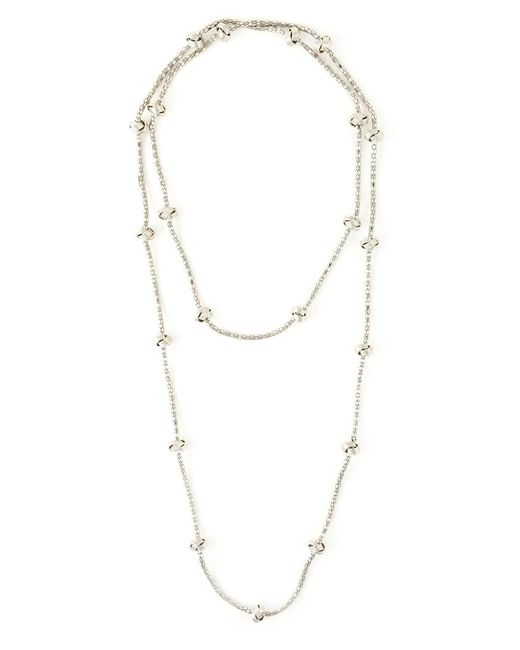 Lara Bohinc | Metallic 'knot' Necklace | Lyst
