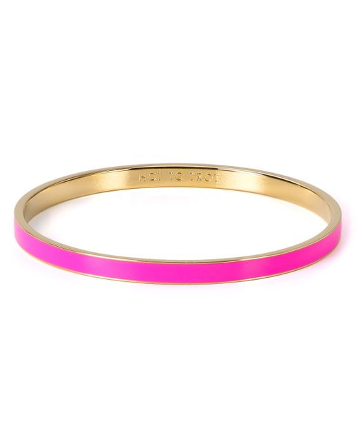 Kate Spade | Pink Hot To Trot Idiom Bangle | Lyst