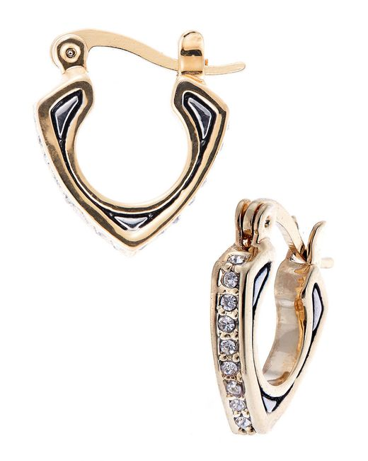 House of Harlow 1960 | Multicolor Engraved Pave Earrings | Lyst