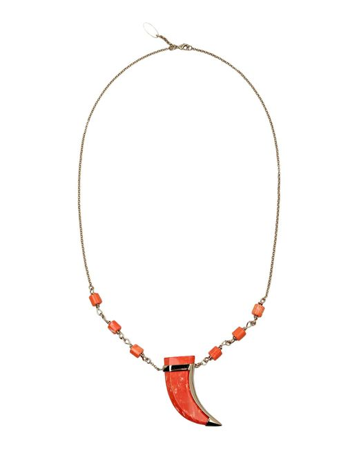 Roberto Cavalli   Pink Necklace   Lyst