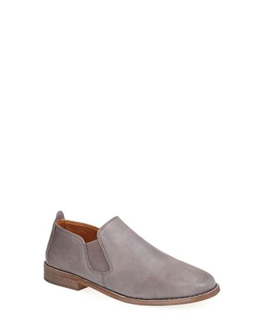 Gentle Souls | Gray 'essex' Slip-on Flat | Lyst