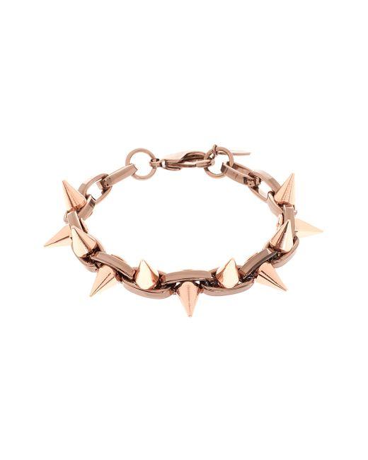 Joomi Lim | Pink Double Row Spike Bracelet | Lyst