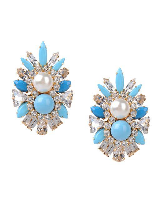 Shourouk | Blue Earrings | Lyst