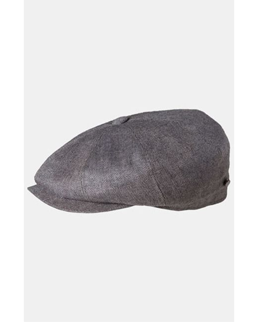 Stetson | Gray Driving Cap for Men | Lyst