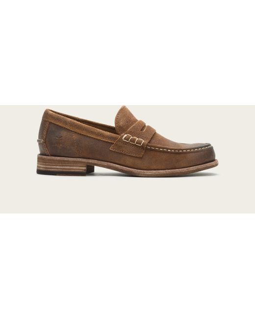 Frye | Brown Greg Leather Penny for Men | Lyst