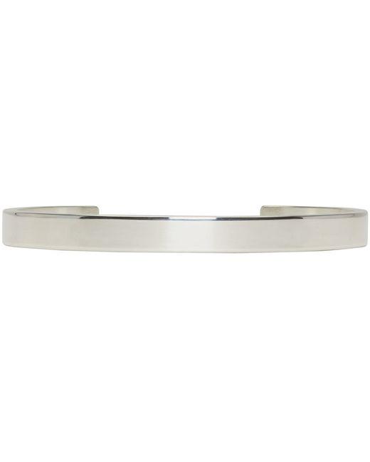 Le Gramme | Metallic Silver Le 15 Grammes Cuff | Lyst