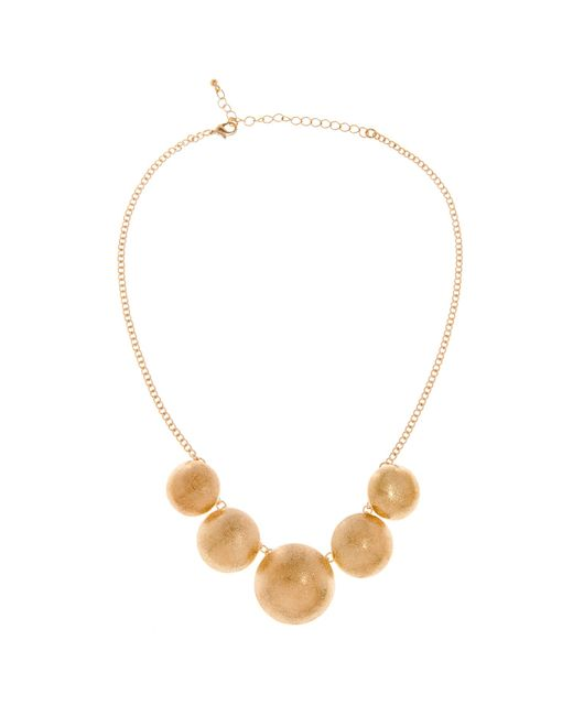 Piper Strand | Black Five Circle Necklace | Lyst