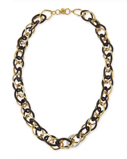 Ashley Pittman | Metallic Kamba Dark Horn Necklace | Lyst