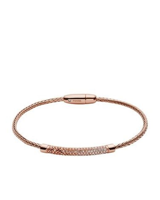 Fossil | Metallic Ja6766791 Ladies Bracelet | Lyst