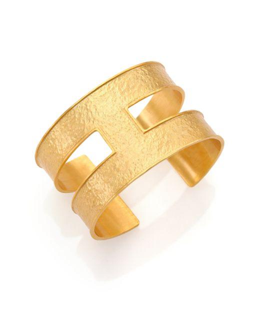 Stephanie Kantis | Metallic Expressway Cuff Bracelet | Lyst