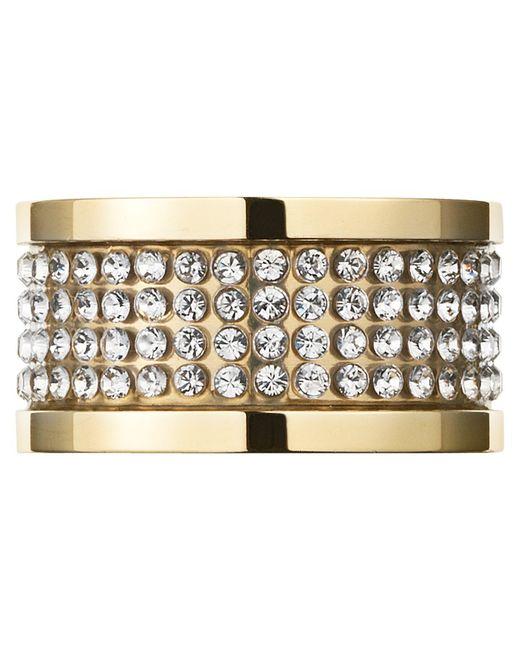 Dyrberg/Kern | Metallic Dyrberg/kern Emily Crystal Band Ring | Lyst