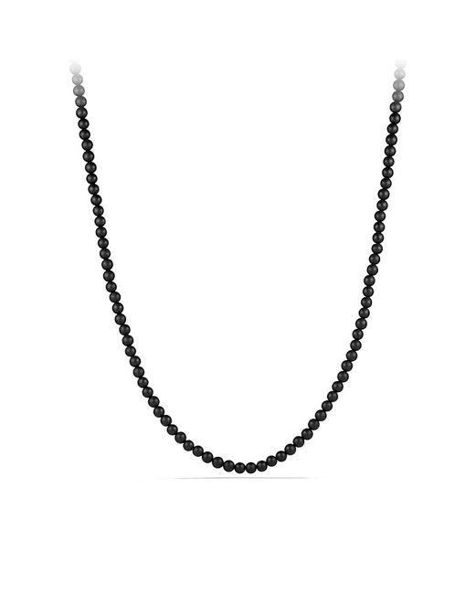 David Yurman | Spiritual Bead Necklace With Black Onyx for Men | Lyst