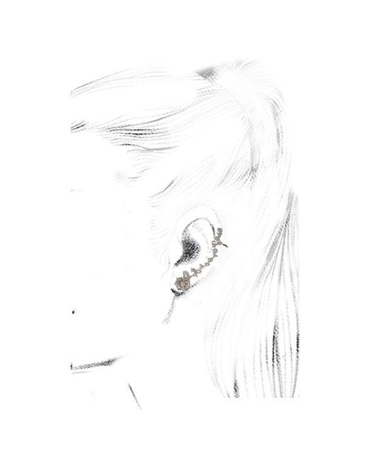 Kismet by Milka | White Diamond Ear Cuff | Lyst