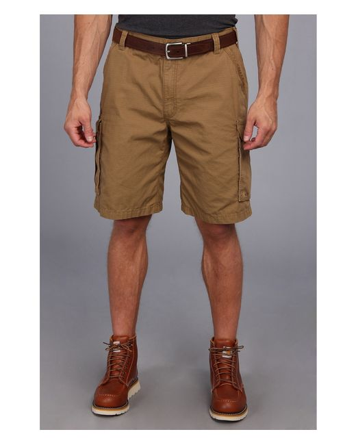 Carhartt | Brown Force Tappen Cargo Short for Men | Lyst