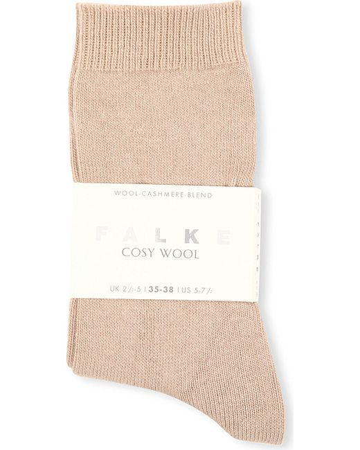 Falke | Natural Cosy Wool Cashmere Socks | Lyst