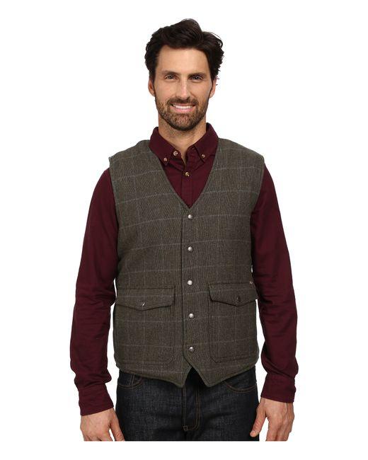 Woolrich | Gray Teton Vest for Men | Lyst