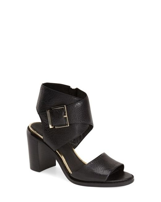Kenneth Cole | Black Lily Buckled Sandals  | Lyst