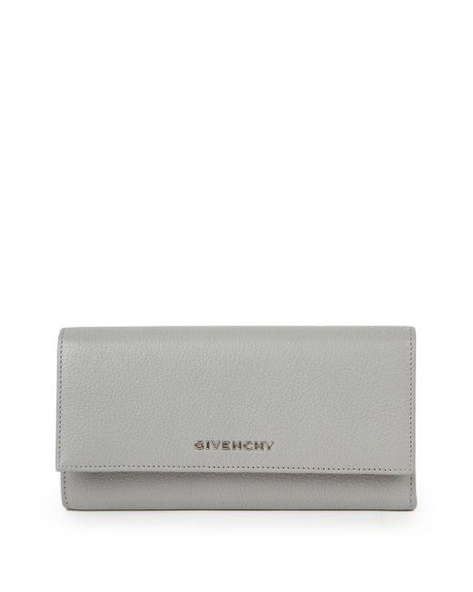 Givenchy | Gray Pandora Flap Continental Wallet | Lyst