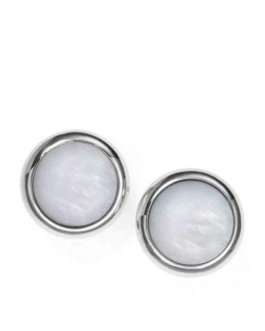 Fossil | Metallic Jf00705040 Womens Earrings | Lyst