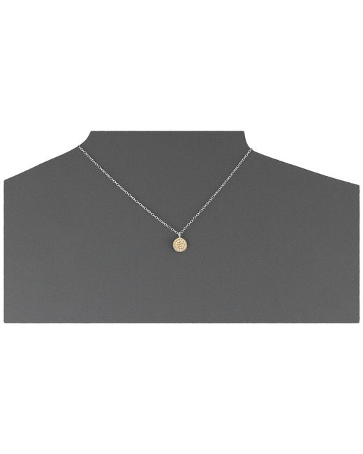 """Anna Beck   Metallic Mini Floating """"o"""" Necklace W/ 16-18"""" Chain   Lyst"""