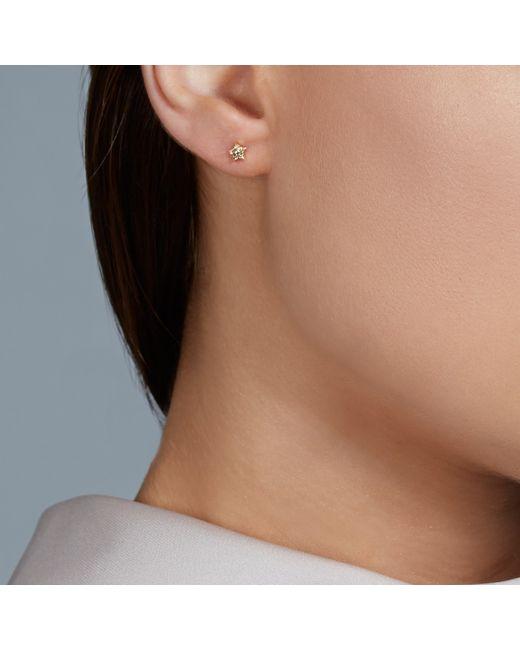 Astley Clarke | Metallic Tiny Star Stud Earrings | Lyst