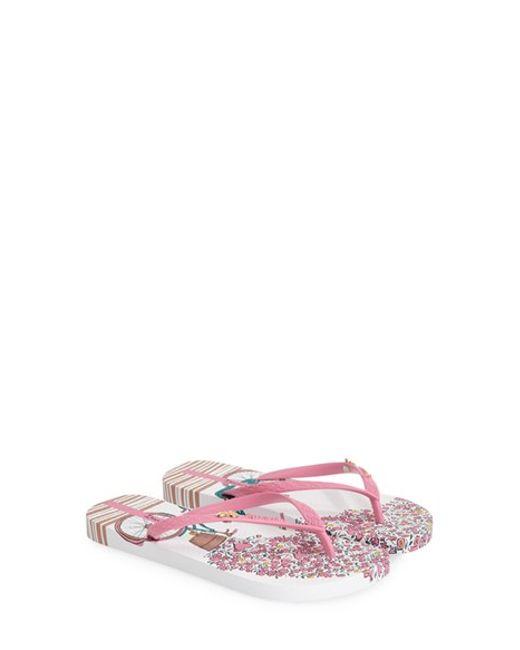Ipanema   Pink 'bouquet' Flip Flop   Lyst