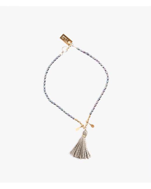 Iwona Ludyga | Gray Dusk Pearl Bracelet | Lyst