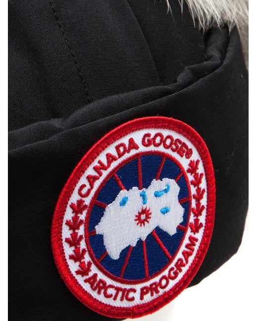 canada goose emblem fake