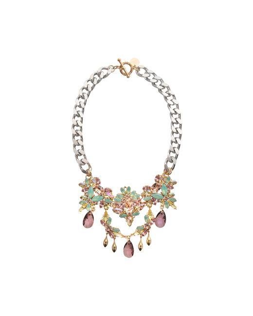 Anton Heunis | Multicolor Wedding Bouquet Secret Garden Necklace | Lyst